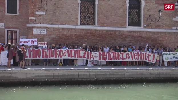 Video «Immer weniger Wohnungen für Venezianer» abspielen