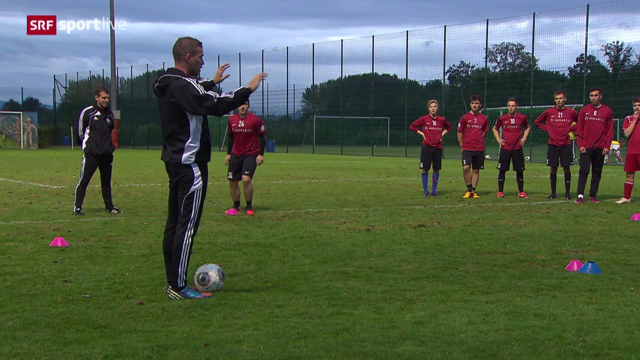 Fabian Frei im Junioren-Training