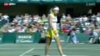 Video «Tennis: Charleston-Halbfinal Vögele - Jankovic» abspielen