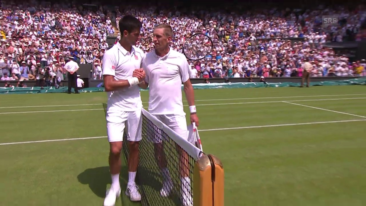 Tennis: Wimbledon 2015, Djokovic – Nieminen