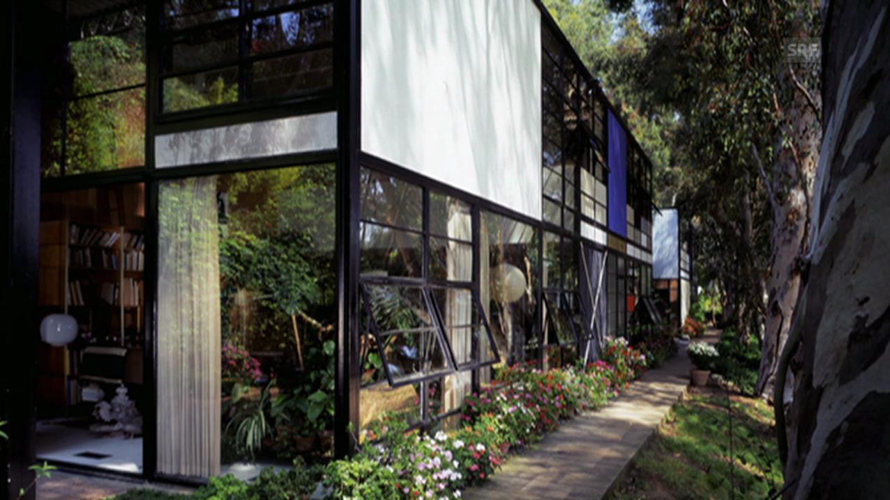 Das Haus von Ray und Charles Eames (aus: «Sternstunde Kunst»)