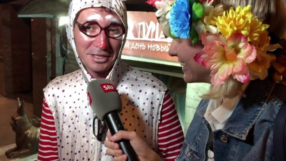 Video «Luzia in Rossija – Teil 8» abspielen