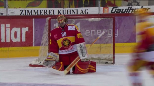 Video «Eishockey: Auswechslung Bäumle» abspielen