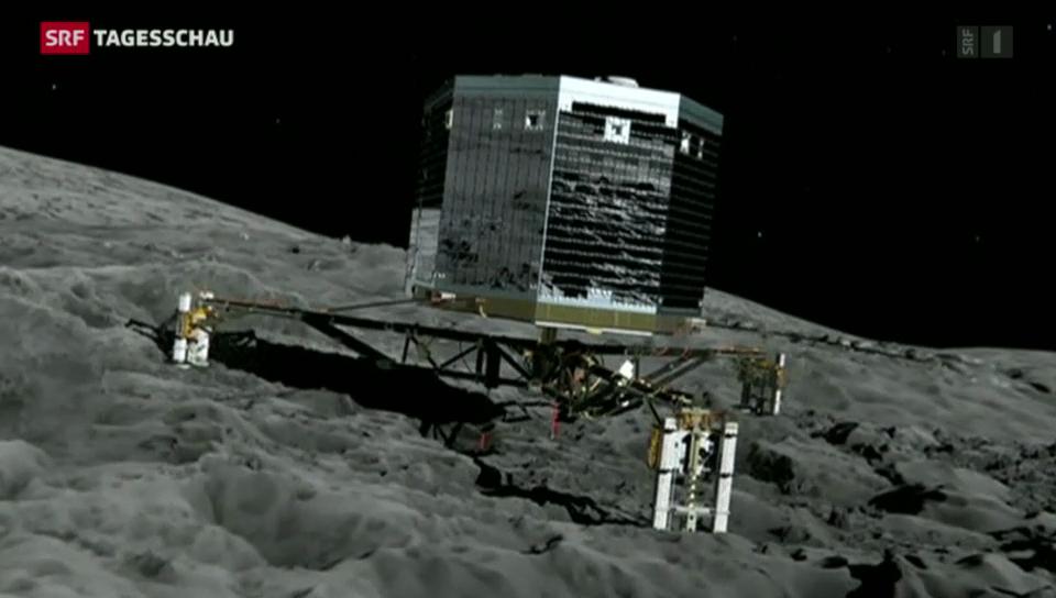 Grosse Spannung bei Wissenschaftlern wegen der Sonde Rosetta