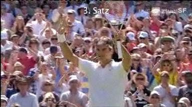 Federer steht im Halbfinal