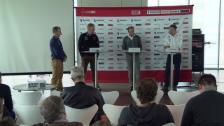 Video «Ski alpin: Hans Flatscher über den Ausfall von Daniele Petrini» abspielen