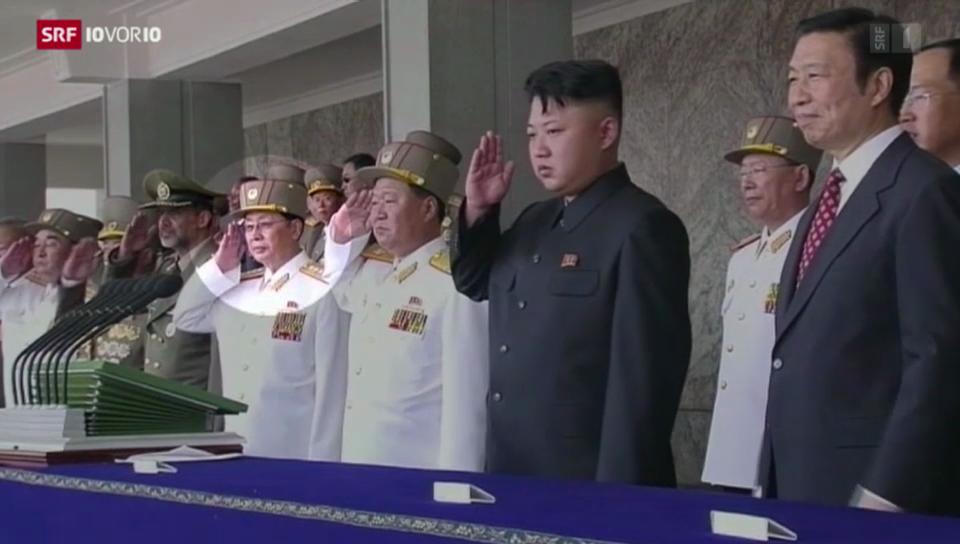 Jang Song Thaek hingerichtet