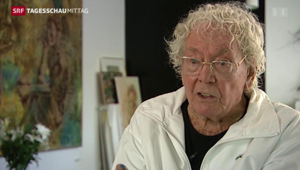 Die Schweiz verliert einen ihrer bekanntesten Künstler