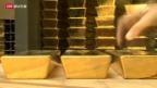 Video «SNB: Milliardenverlust wegen Gold» abspielen