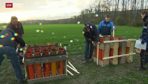 Video «Kurs für Pyrotechniker» abspielen