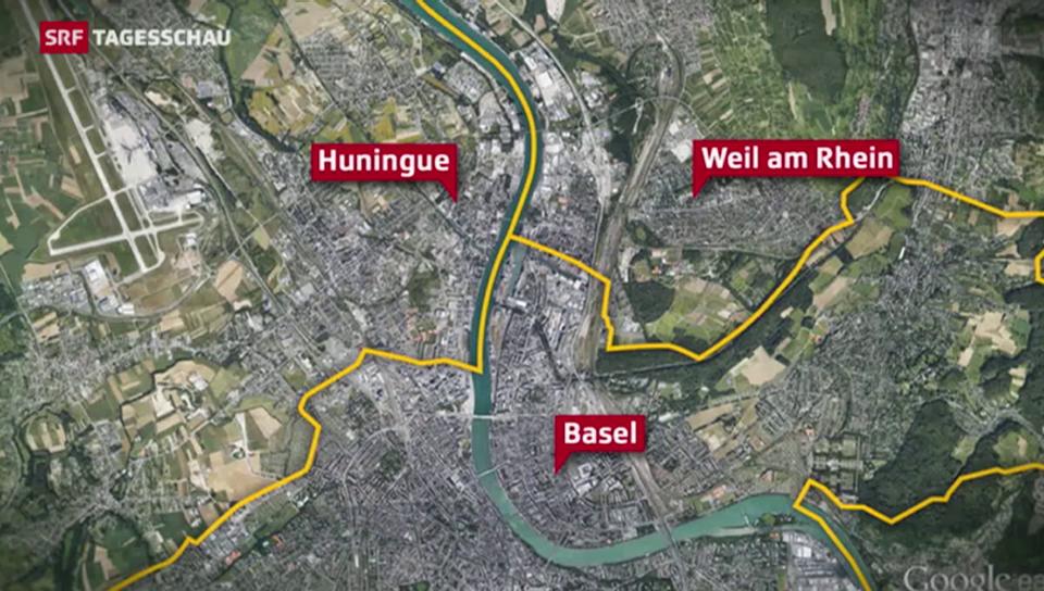 Drei Städte in drei Ländern mit einer Vision