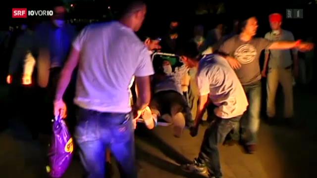 Anti-Erdogan-Proteste in Istanbul eskalieren