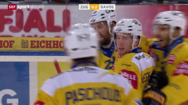 Video «Eishockey: NLA, EV Zug - HC Davos» abspielen