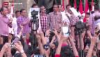 Video «Präsidentenwahl in Indonesien» abspielen