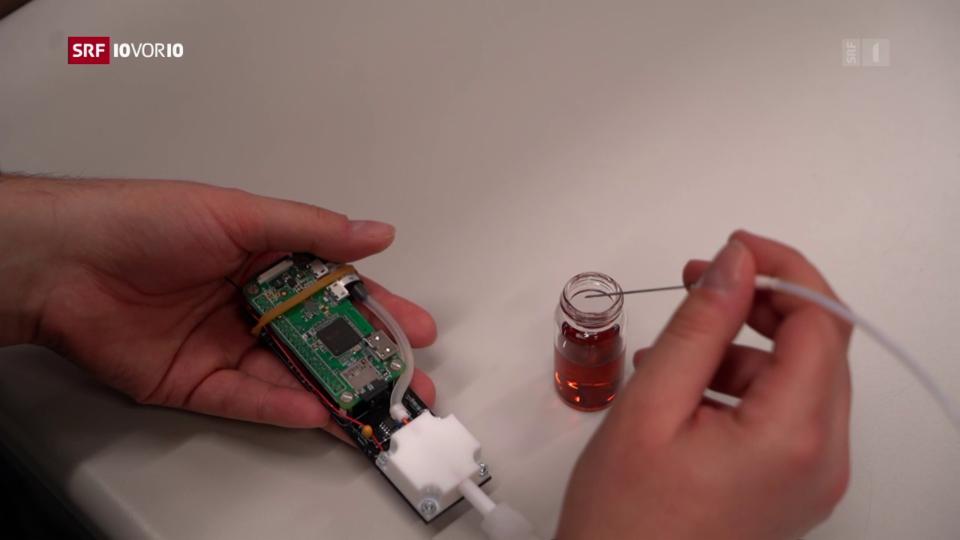 Aus dem Archiv: Messgerät erkennt Methanol im Alkohol