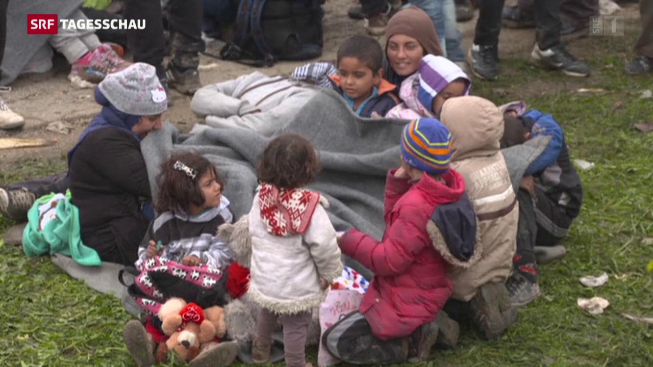 Slowenien überfordert mit Flüchtlingsansturm