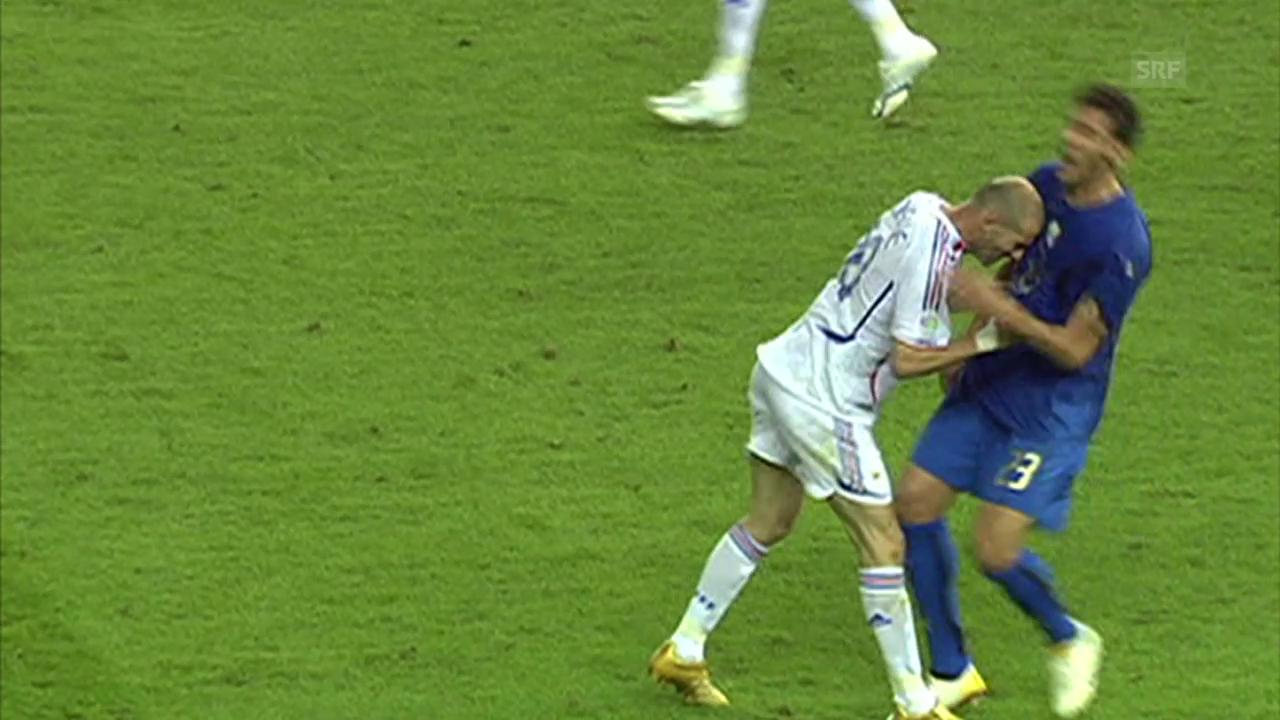 Zidanes Kopfstoss an der WM 2006