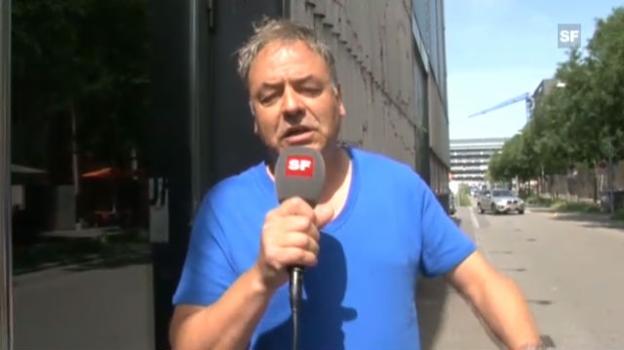 Video «Rolf Schmid hatte immer schon Probleme mit dem Liegen» abspielen
