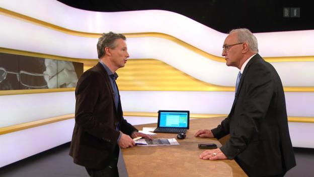 Video «Studiogespräch mit Martin Hubatka, Pensionskassen-Experte» abspielen