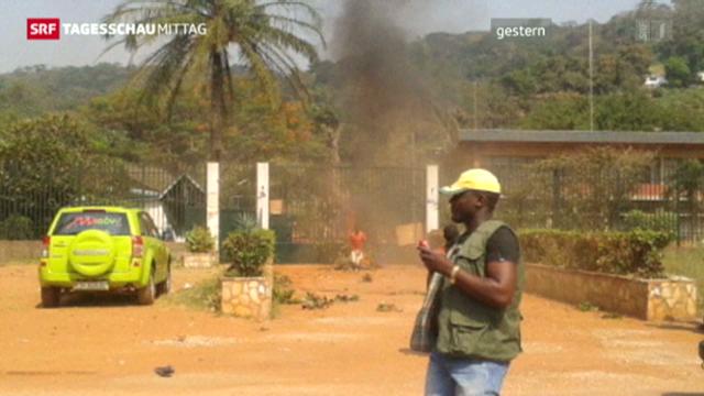 Aufstand in Zentralafrika