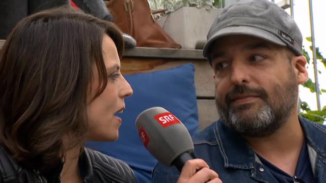 Alex Flach im Interview mit Mona Vetsch