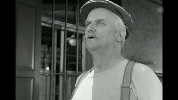 Video ««Bäckerei Zürrer», 1957 (Filmausschnitt)» abspielen