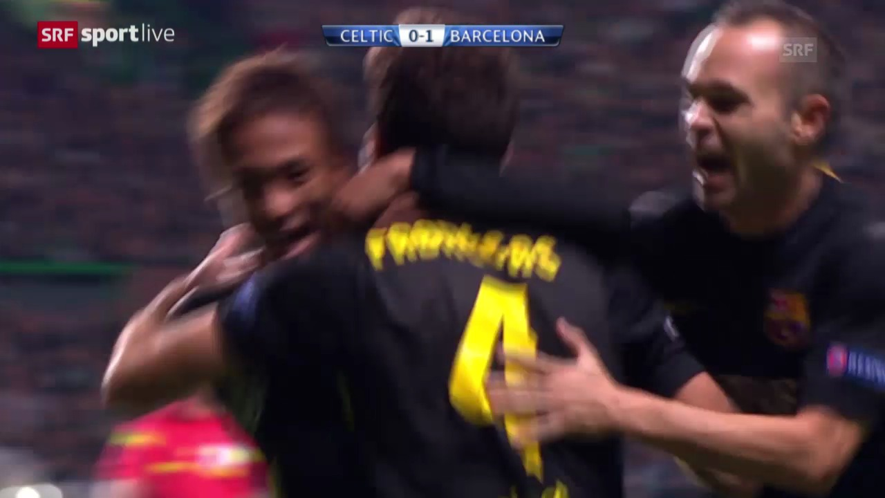 Fussball: Celtic Glasgow - Barcelona («sportlive»)