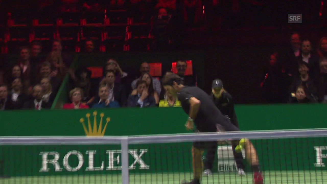 Tennis: MfA, Federer-Wawrinka