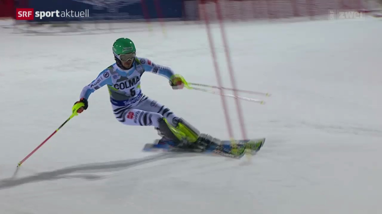 Ski alpin: Weltcup in Madonna di Campiglio, Slalom Männer