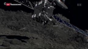 Video «Rosetta landet auf dem Kometen Tschuri» abspielen