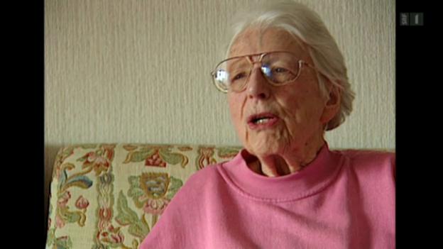 Video «Gertrud Heinzelmann: Ohne Frauenstimmrecht kommen wir zu nichts» abspielen