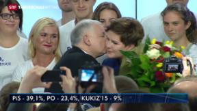 Video «Polnische Opposition vor absolutem Mehr» abspielen