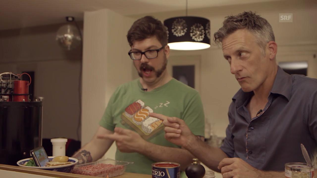 SRF Gadgets, Folge 5 – «Chefkoch automatique»