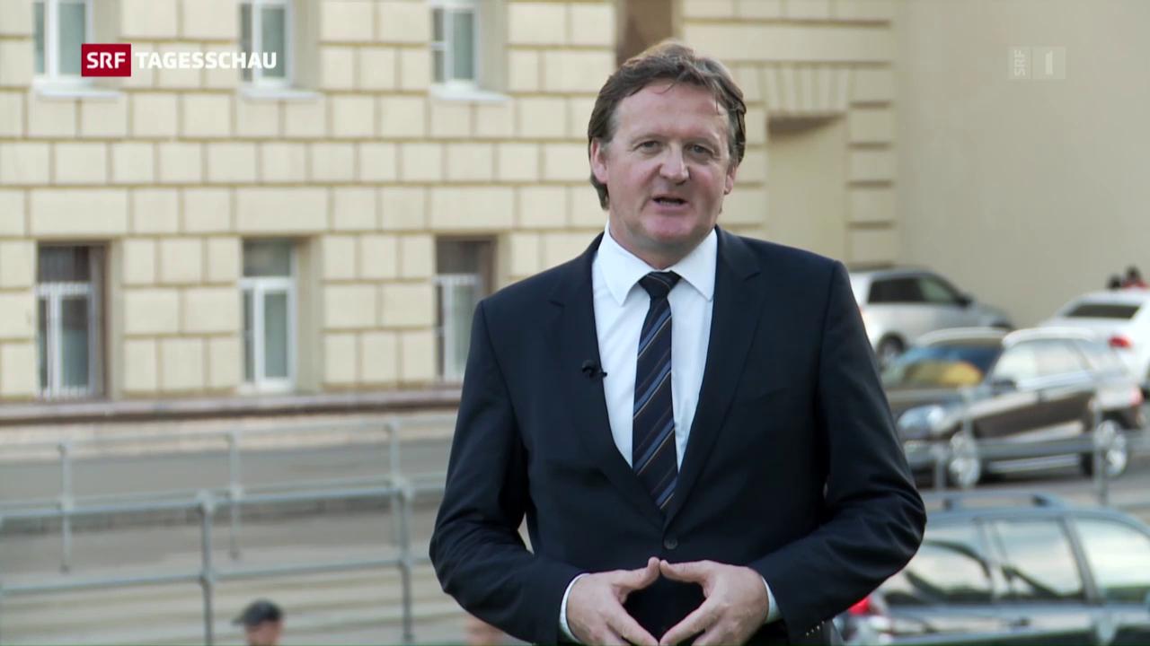 Christoph Franzen: «Putin warnt vor antirussischer Politik»