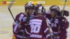 Video «Genf mit klarem Heimsieg gegen Freiburg» abspielen