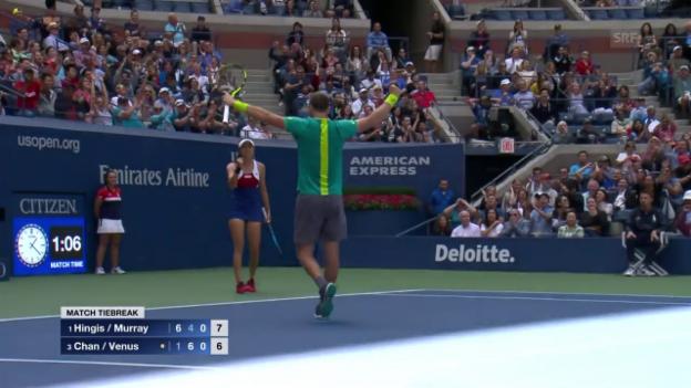Video «Der beste Punkt des Spiels geht nicht an Hingis/Murray» abspielen