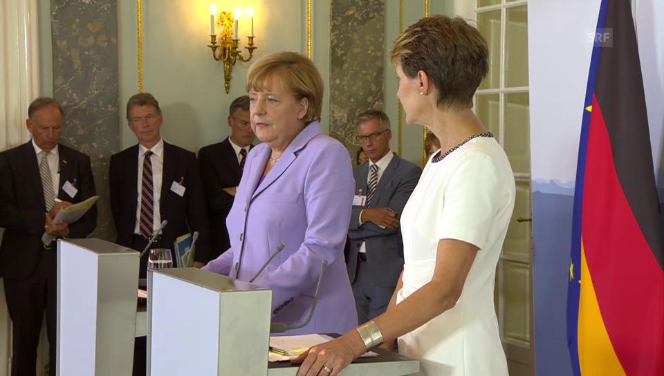 Merkel über die Beziehung Schweiz-EU