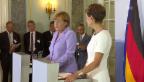 Video «Merkel über die Beziehung Schweiz-EU» abspielen