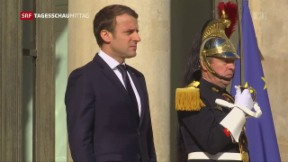 Video «Macron auf Kurs» abspielen