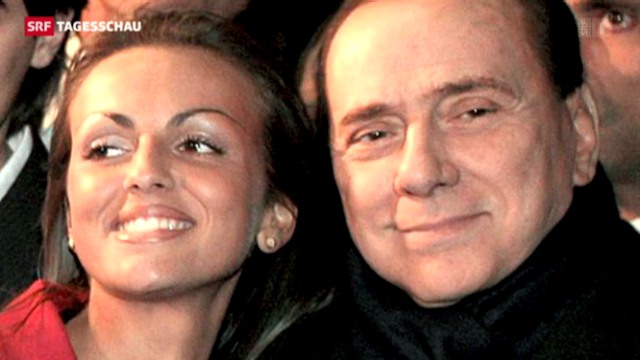 Berlusconi in love