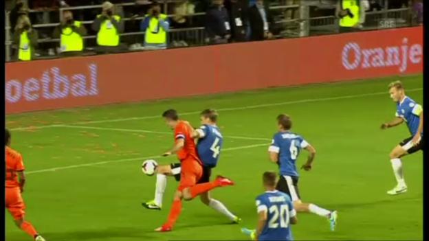 Video «Highlights Estland - Niederlande («sportaktuell»)» abspielen