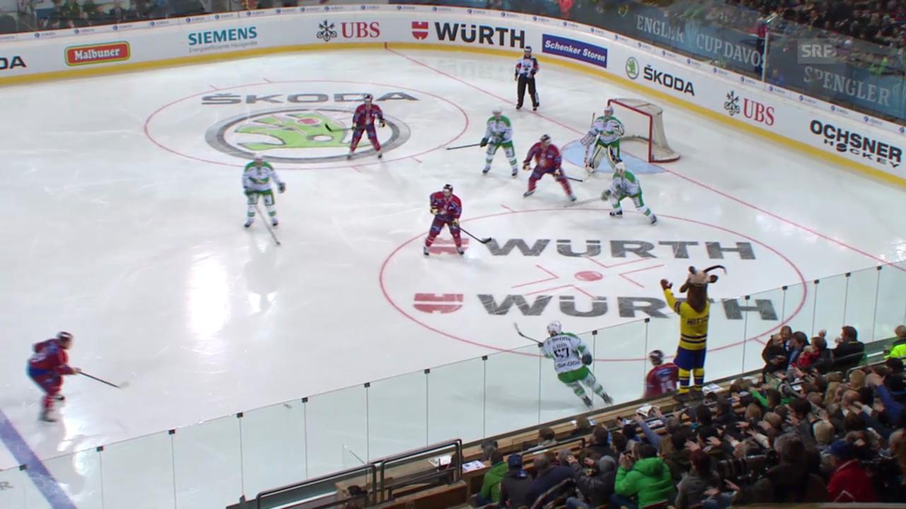 Eishockey: Final Spengler Cup, Ufa - Genf
