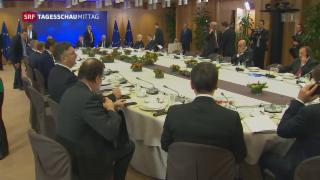 Video «EU-Spitzentreffen in Brüssel» abspielen
