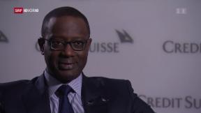 Video «Tidjane Thiam – seine Bilanz bei der Credit Suisse» abspielen