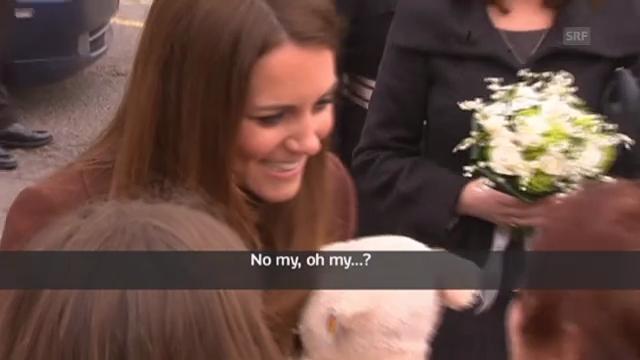 Royaler Versprecher: Bekommt Catherine ein Mädchen?