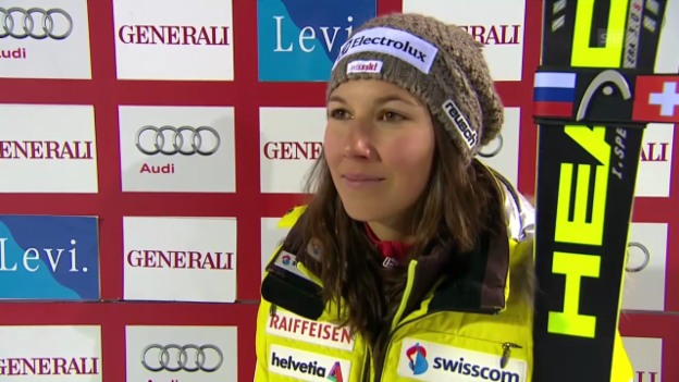 Video «Ski Alpin: Interview mit Wendy Holdener» abspielen