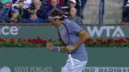 Video «Tennis: Federer - Anderson in Indian Wells» abspielen