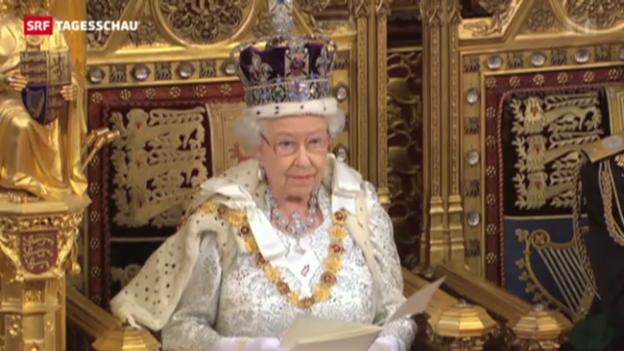 Video «Thronrede der Queen» abspielen