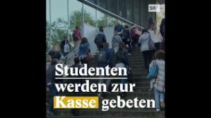 Video «Schweizer Studenten: Wie viel bezahlen sie?» abspielen
