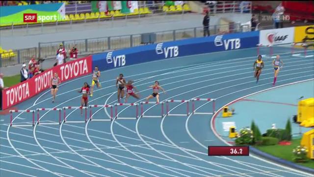 LA-WM: 400 m Hürden der Frauen